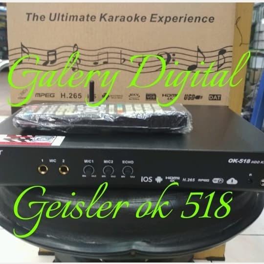 harga Player karaoke geisler ok 518 hdd 2tera Tokopedia.com