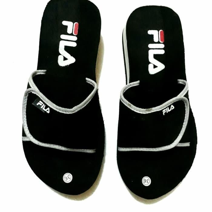 harga Sepatu wedges spon fila Tokopedia.com