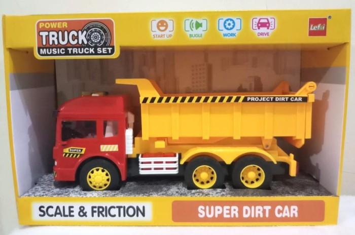 harga Mainan mobil alat berat dump truck / truk bak pasir Tokopedia.com