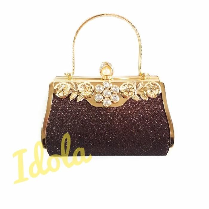 Jual IdolaBags- Tas Pesta Glitter Clutch Farnell Import Ori  Handbag ... adcab44570