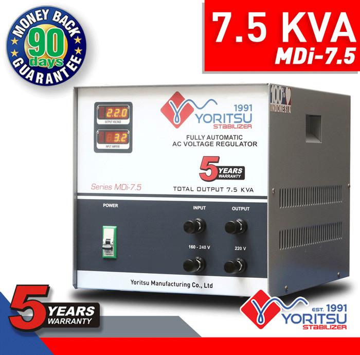 harga Voltage stabilizer listrik yoritsu digital 7.5 kva (1phase) Tokopedia.com