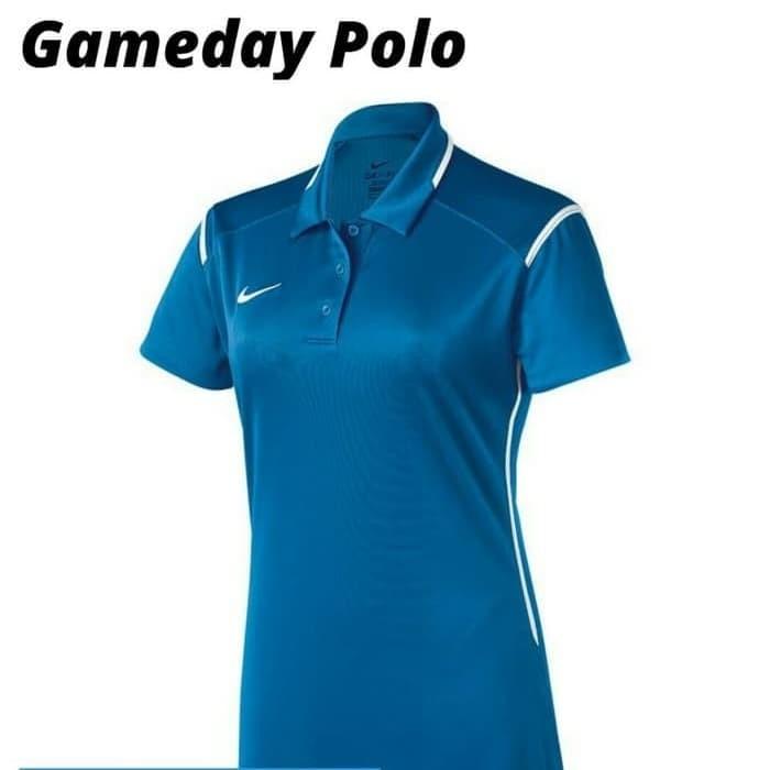 bb8adeee Jual Kaos Kerah Cewek Nike Team Gameday Polo DRI-FIT 100% Original ...