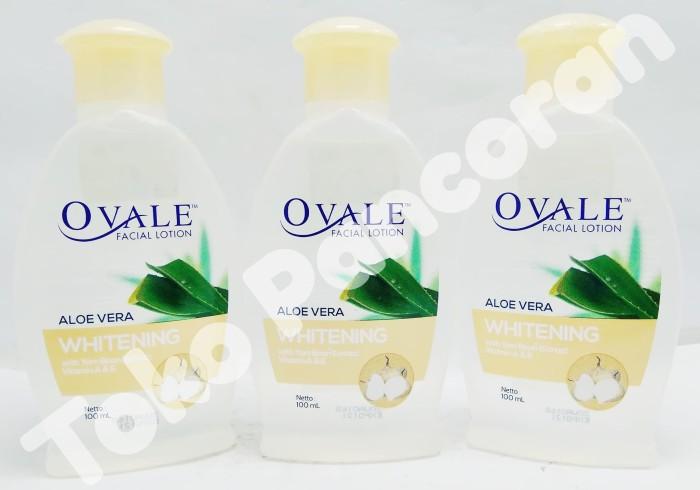 OVALE Facial Lotion Aloe Vera Pembersih Make Up ( Bangkuang ) 100 ml