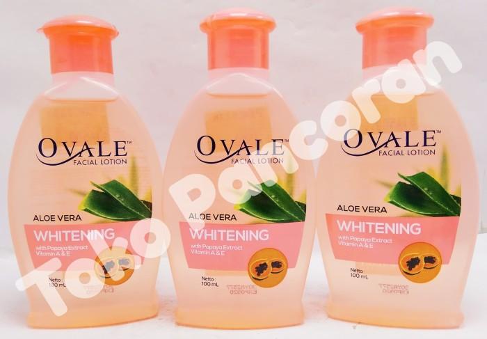 OVALE Facial Lotion Aloe Vera Pembersih Make Up ( Pepaya ) 100 ml
