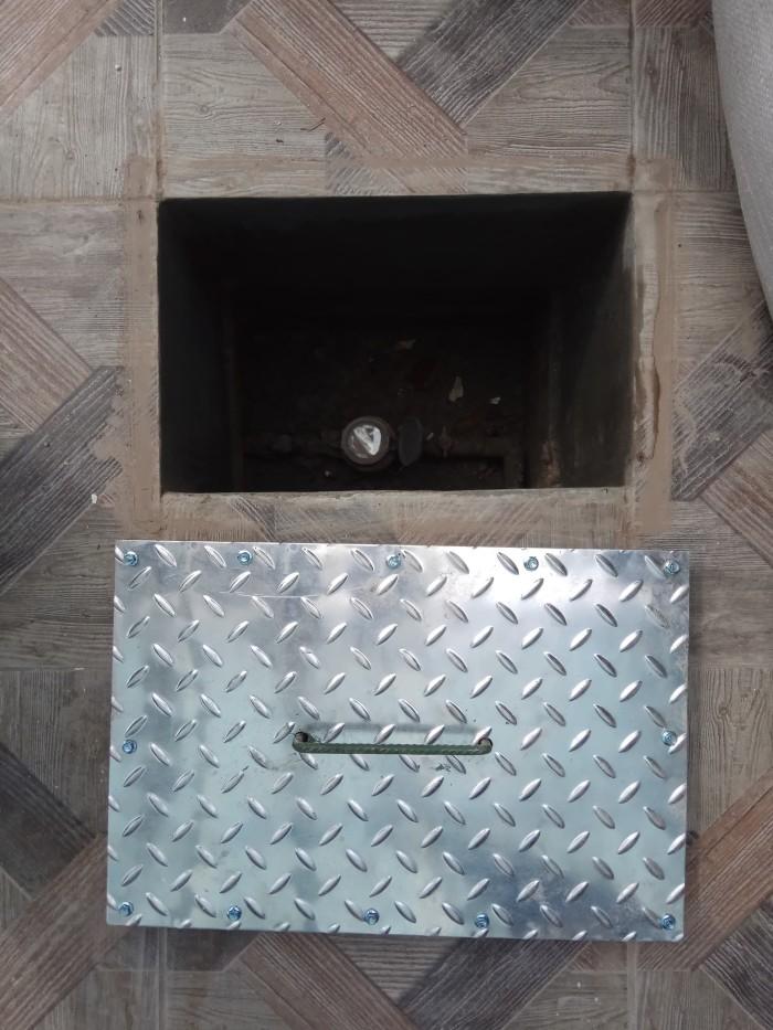 Foto Produk Tutup Lubang / tutup got / penutup lubang/ lobang, Rangka besi + alum dari KLK Online