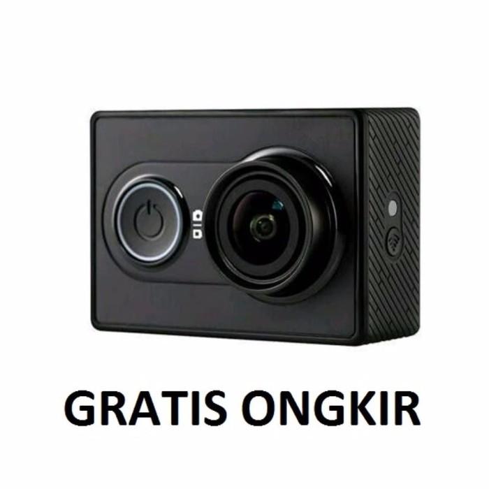 Xiaomi Yi Action Camera 16 MP International Edition Hitam Gratis ong