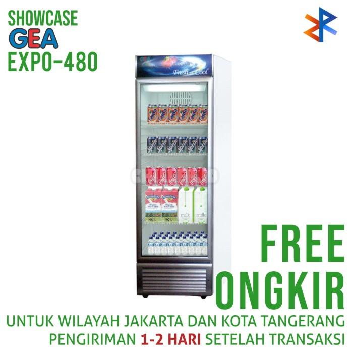 GEA EXPO-480 Showcase Display Cooler Free Ongkir