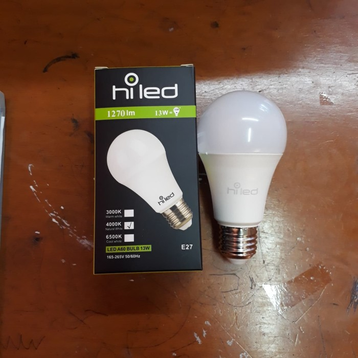 harga Led bulb hiled 12watt 4000k natural white Tokopedia.com