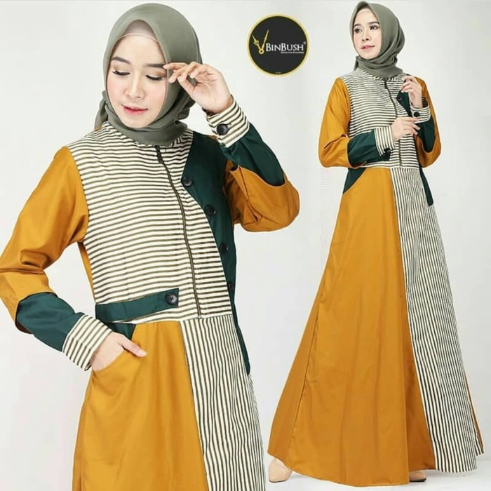 Jual Baju Gamis Wanita Terbaru Maxi Dress - Abidah Dress - Gamis ... c0247487cd