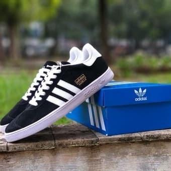 Jual Sepatu Adidas Gazelle Hitam Putih Sepatu Jalan Casual Pria