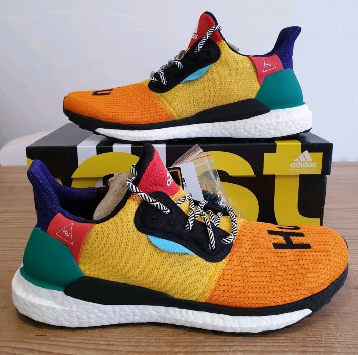82b337f1e611a Jual Adidas Pharrell Williams Solar Glide HU Multicolor X Premium ...