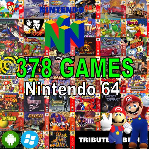 Jual Nintendo 64 (N64) Rom+Emulator Android Pc Laptop - Kota Surabaya -  Griyaboneka | Tokopedia