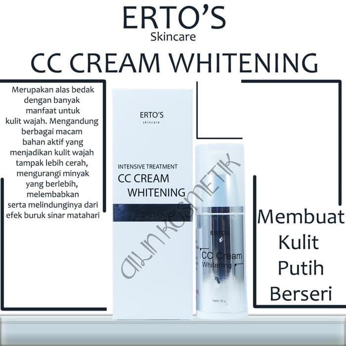 ERTOS CC Cream Whitening intensive Treatment ERTOS