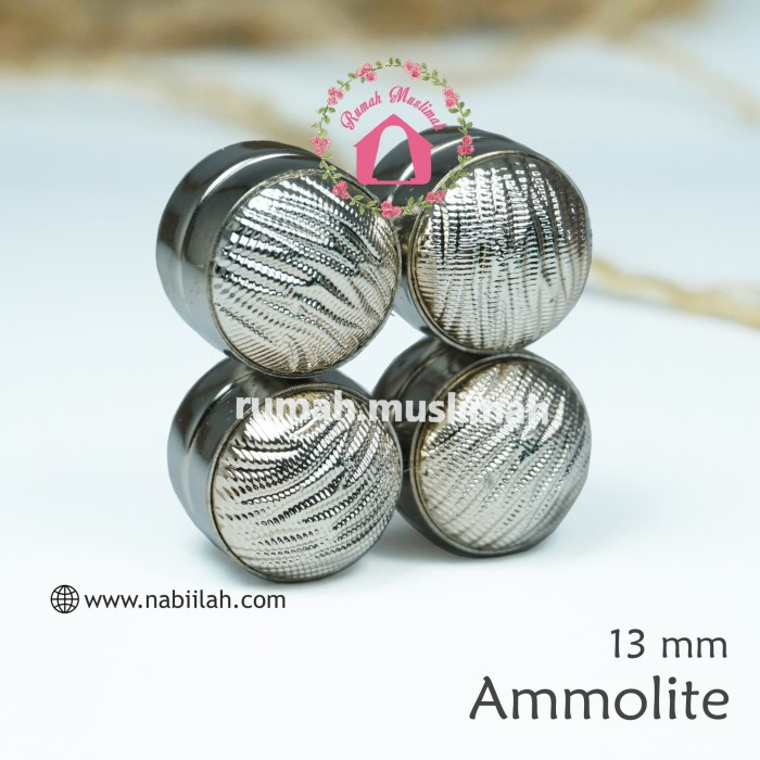 ... harga Bros magnet ammolite 13 mm pin jilbab bros dagu tuspin aksesoris hijab Tokopedia.com