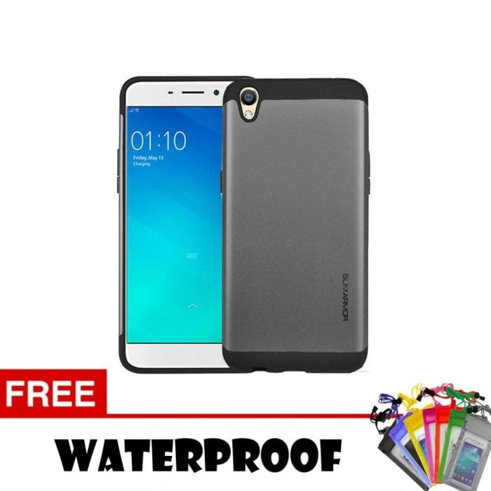 buy popular 2b848 09176 Jual jual Case/Casing Slim Armor For Oppo Neo 7 Series + Free Waterproof -  lubna anatania   Tokopedia
