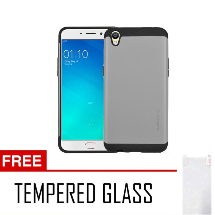 jual Case/Casing Slim Armor For Oppo F1 Plus R9 Series + Free Tempered