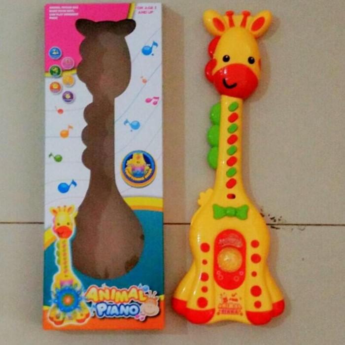 jual Mainan Anak Gitar Jerapah / Mainan Musik Model Jerapah ready