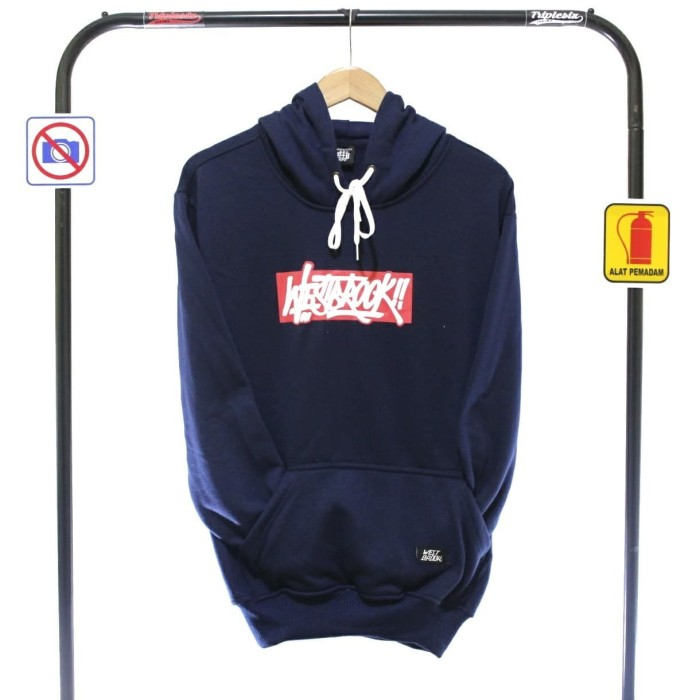 JAKET HOODIE SWEATER WESTBROOK NAVY / ORIGINAL TRIPLE SIX DISTRO