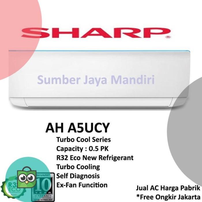 AC Splite Sharp 1/2 PK ( AH-A5UCY )
