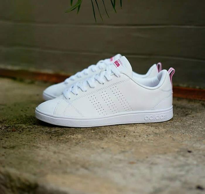 Jual Adidas Neo Advantage White Pink - Putih ede1c3b809