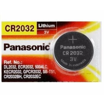 Foto Produk Baterai / Battery / Batere Lithium Panasonic CR-2032 / CR2032 3V dari Bayan Express