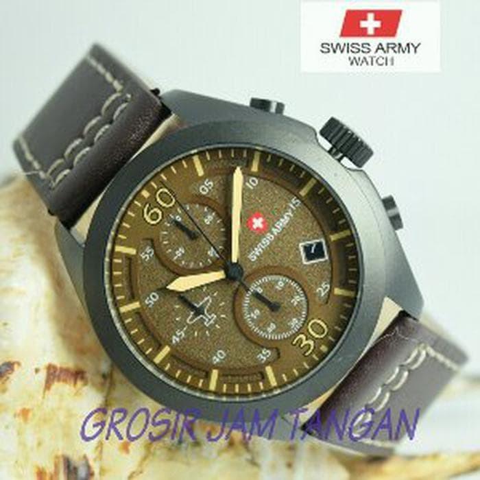 Jual Terbaik Jam Tangan Pria Swiss Army super premium design ... 797c003b9f