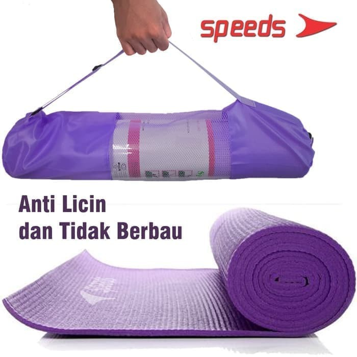 Matras Yoga Mat Karpet Spons Tikar Camping 173 x 61CM 8MM Tebal + Tas
