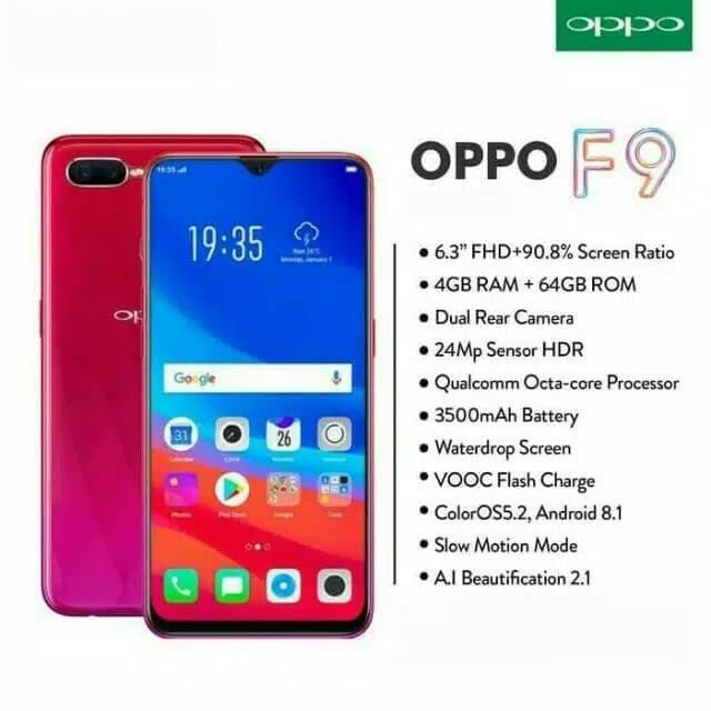 harga Oppo f9 garansi resmi oppo indonesia segel resmi bnib Tokopedia.com