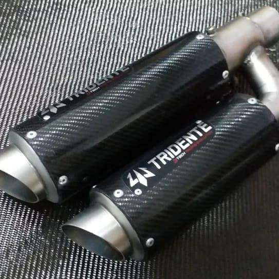 harga Knalpot tridente f22 tomahawk silencer only motor 150cc full carbon Tokopedia.com