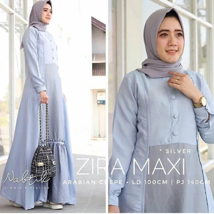 Jual Baju Gamis Wanita Terbaru - Zira Maxi Dress - Gamis Pesta ... 5dc4cf8d95