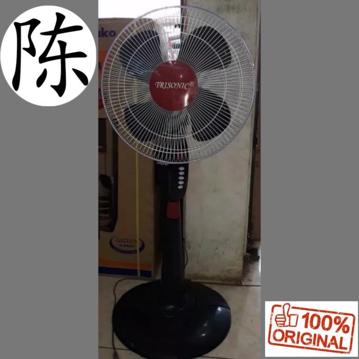 Kipas Angin Berdiri / Stand Fan / Standfan Trisonic JARING BESI 16''