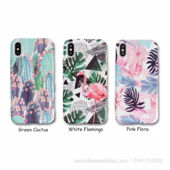 Jual Case Iphone 6 7 Oppo A37 A83 Flora Fauna 3d High Quality Softcase Cute Jakarta Barat Sembilansembilan Acc Tokopedia