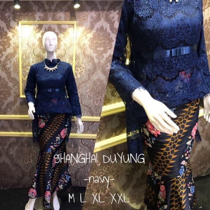 Jual Baju Kebaya Modern Setelan Kebaya Brukat Set Rok Duyung Batik Wisuda Kab Bandung Rika Online Store Tokopedia