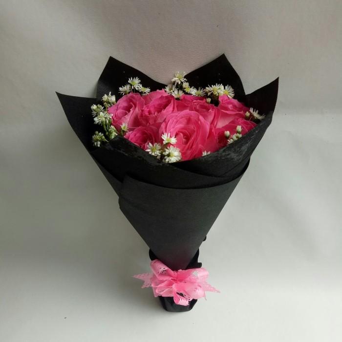 Jual buket bunga mawar asli hadiah ulang tahun bucket wisuda florist ... 2bf1bcc4ee