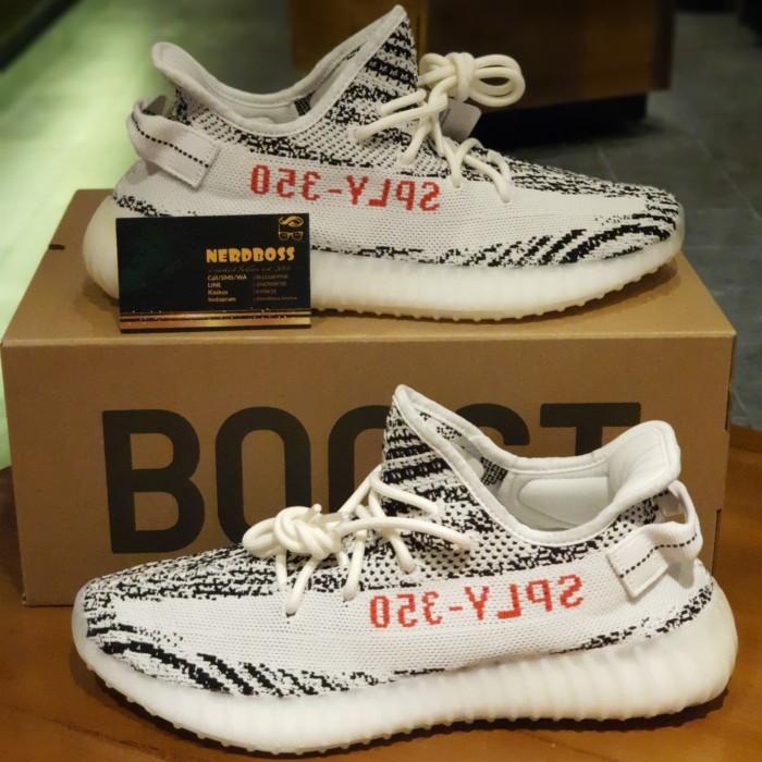 Jual Adidas Yeezy Boost 350 V2 Zebra Bnib 100 Original Super