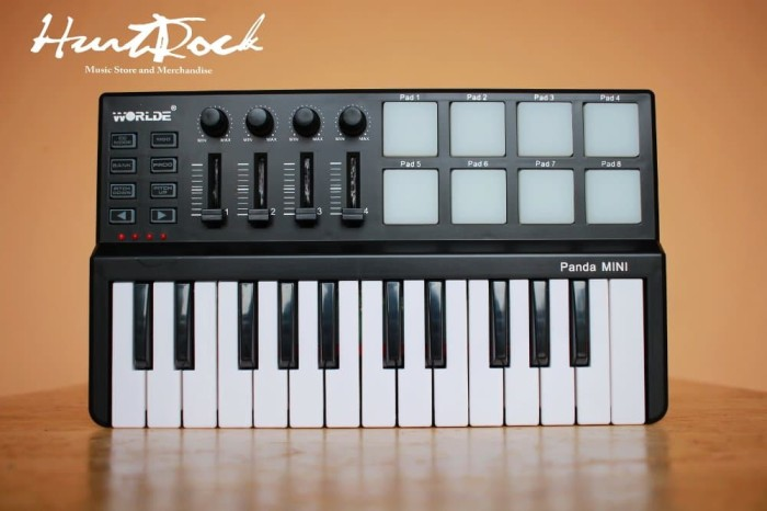 harga Worlde panda mini usb keyboard and drum pad midi controller Tokopedia.com