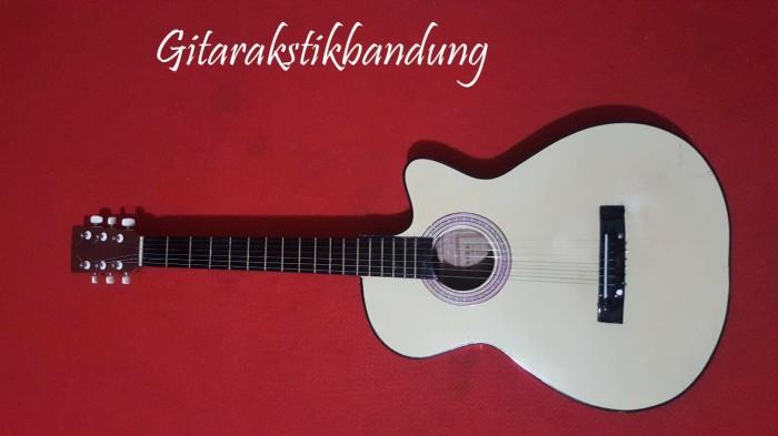 harga Gitar akustik pemula murah bandung bisa gosend senar string oke Tokopedia.com