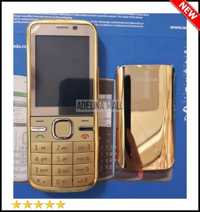 Review Handphone Nokia C5 5mp Gold Edition Hp Nokia Jadul Hp