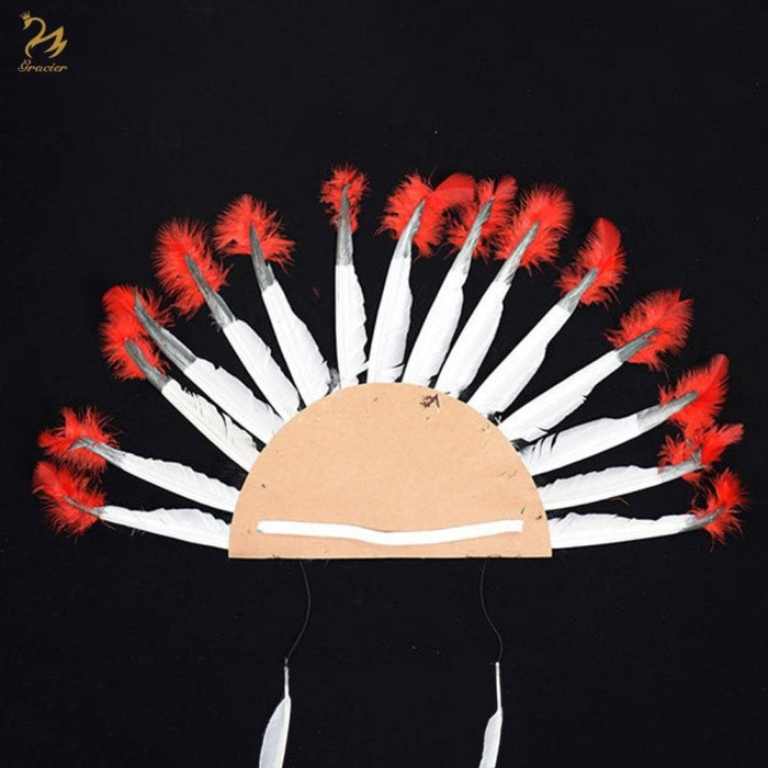 Jual Topi kepala suku indian cherokee chief hat halloween party new year -  Kota Depok - Susan Shop   Tokopedia
