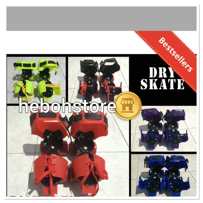 harga Sepatu roda 4 dewasa/dry skate anak tanggung/dewasa Tokopedia.com