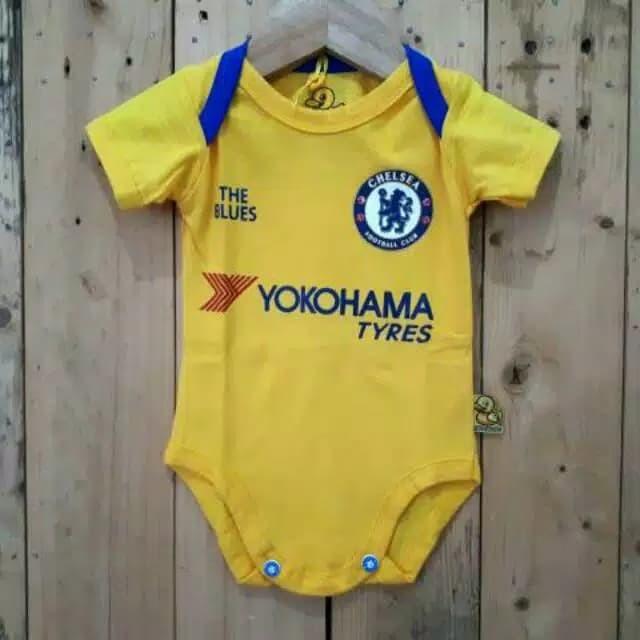 on sale 42a80 21087 Jual Jersey Chelsea Away Jumper Baby Chelsea FC Baju Bola Bayi - DKI  Jakarta - nuhafa | Tokopedia