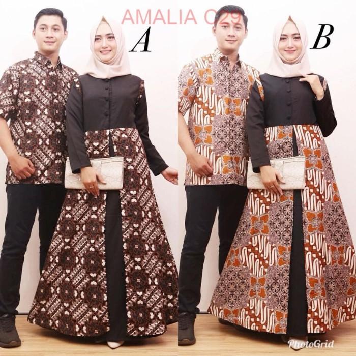 Jual Baju Batik Sarimbit Kemeja Pria Lengan Pendek Couple Pesta