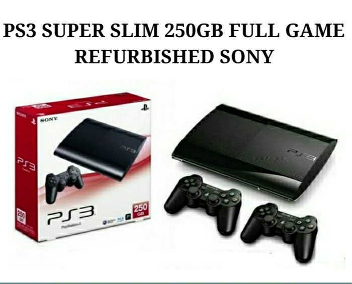 Jual NEW SONY PS3 SUPER SLIM 250GB OFW4 84 HEN SUPPORT GAME CFW - Kota  Tangerang Selatan - xendys kopitiam | Tokopedia