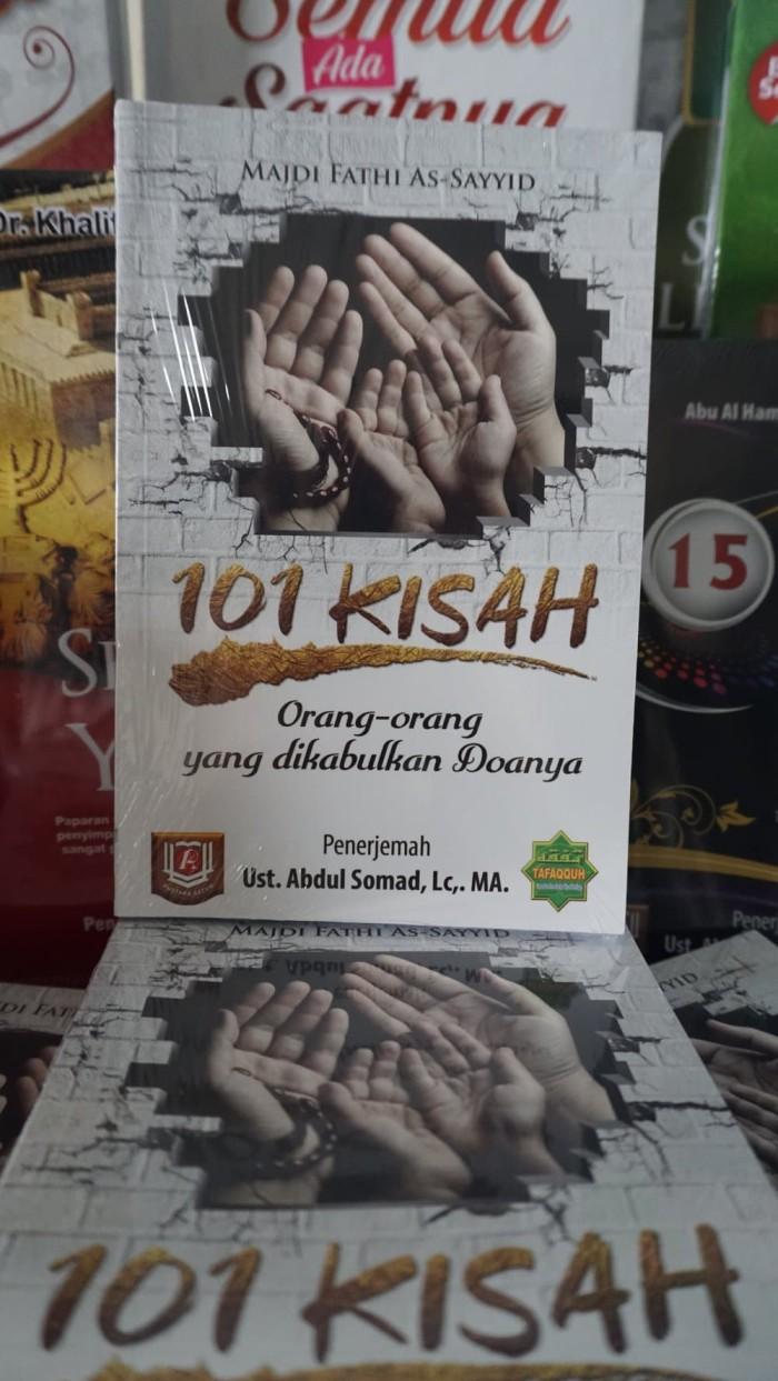 Jual 101 Kisah Orang Orang Yang Dikabulkan Doanya By Ust Abdul Somad Jakarta Timur Toko Buku Grosir TeMurah