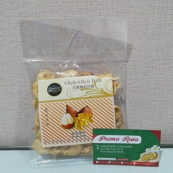 harga Aneka keripik buah (salak/mangga/nangka) gourmet bali khas bali 100gr Tokopedia.com