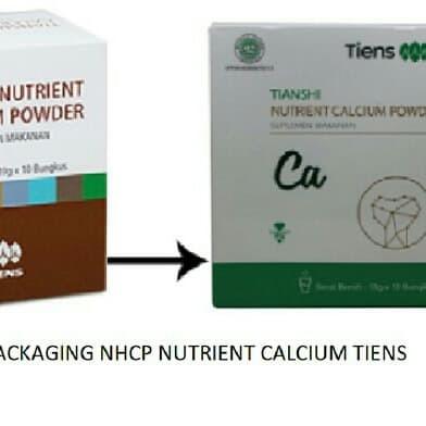 Foto Produk Produk Tiens Asli Nutrient Calcium Powder Tiens 100% asli segel BPOM dari sehat ku alami