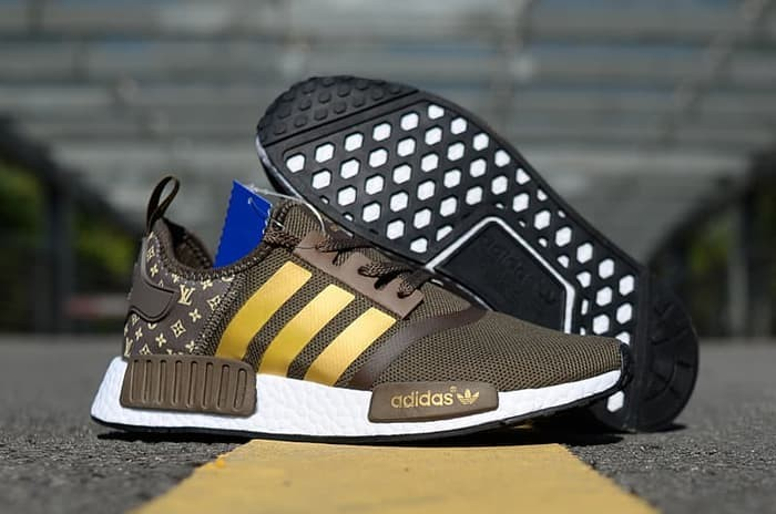 huge selection of 0a181 452ad Jual ADIDAS NMD R1 x Louis Vuitton LV Boost High Premium Original - Nikon88  | Tokopedia