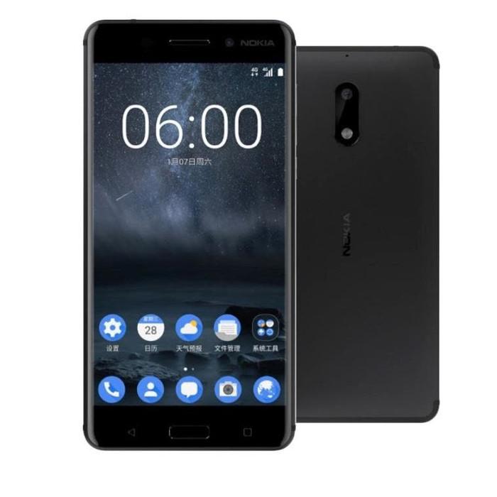 harga Nokia 6 (3/32 gb) - black Tokopedia.com