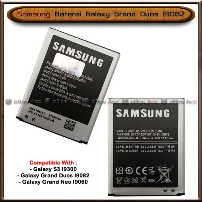Foto Produk Baterai Samsung Galaxy Grand Duos I9082 Original Batre Batrai HP dari oBos Acc