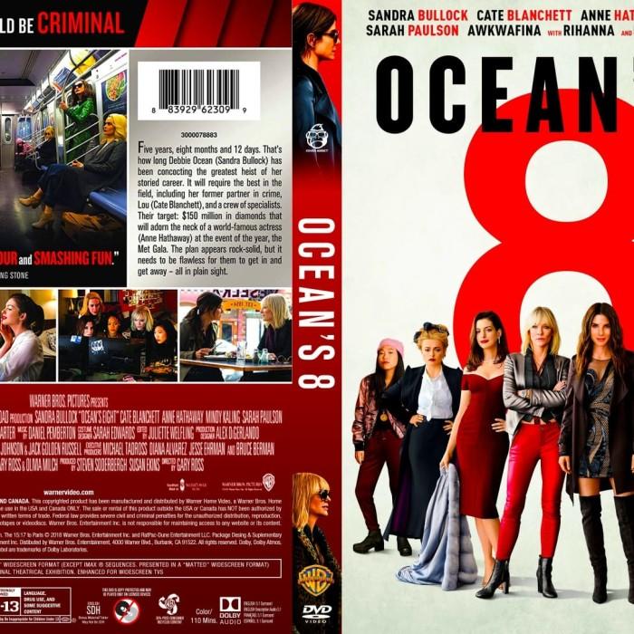 Jual Ocean S Eight 2018 Dvd Movie Collection Film Koleksi Jakarta Barat M Collector Tokopedia